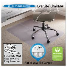 Walmart High Chair Mat by Amazon Com Es Robbins Foldable Rectangle Chair Mat 36