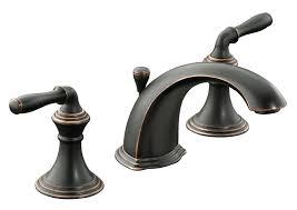 Oil Rubbed Bronze Faucets Single Handle by Kohler K 394 4 Brz Devonshire Widespread Lavatory Faucet Oil
