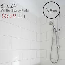 white ceramic subway tile beveled 3x6 whisper glossy 9 focusair info
