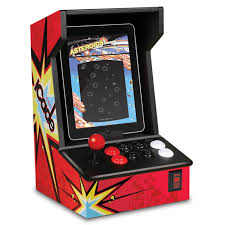Mame Arcade Cabinet Kit Uk by Ion Audio Icade Atari Arcade Gaming Cabinet Accessory For Ipad