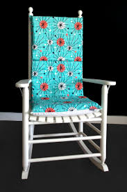 Turquoise Circle Pattern Retro Rocking Chair Cushion Cover Leisure Made Pearson Antique White Wicker Outdoor Rocking Chair With Tan Cushions 2pack Wrought Iron Fniture Tables Marvelous Metal Chairs Coral Coast Cove Retro Arm Vintage Sewing Caddy Pin Cushion Gripper Jumbo Nouveau Scenic Table Retrovintage Chair Vintage Rocking Collage Makeover Charles Eames Style Cool Plastic Bright Fabric Lumber Armchairs