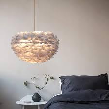 federn deckenle pendelleuchte schirm le lichter hängeleuchte feder le moderne weiß lichter hängeleuchte schlafzimmer ess zimmer decken mit
