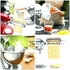 Unusual Bed Bath And Beyond Mixers V7095507 Pasta Maker Kitchen Aid Mixer