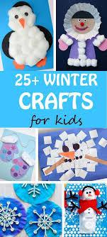 25 Winter Crafts For Kids Easy Penguin Eskimo Snowflake Snowman