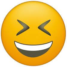 Tight Eye Laughing Emoji Printable
