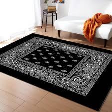 bandana muster muster teppiche für wohnzimmer schlafzimmer