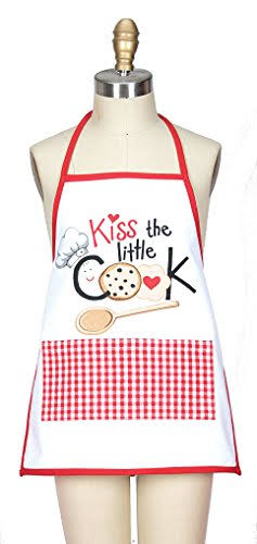 Kay Dee Designs R3866 Kiss The Cook Child Apron