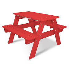 Lifetime Folding Picnic Table Assembly Instructions by Polywood Childrens Kids Picnic Table All Weather Solid Plastic