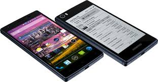 Siswoon R9 Darkmoon a Dual Screen E Ink Smartphone