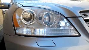 2008 mercedes ml350 with error free 3156 turn signal lights