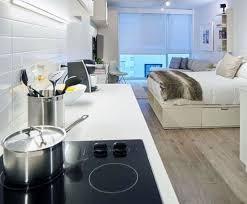 Studio Apartment Kitchen Ideas Top 60 Best Studio Apartment Ideas Small Space Designs