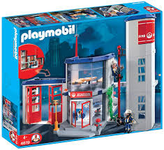 100 Playmobil Fire Truck Amazoncom PLAYMOBIL Station Toys Games