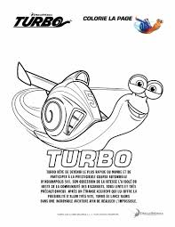 Turbo Escargot 7 Coloriage Turbo Lescargot Coloriages Pour