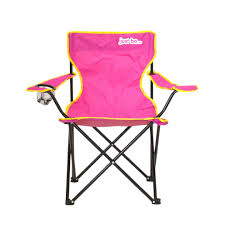 Just Be...® Folding Camping Chair - Dark Pink With Yellow Trim Volkswagen Folding Camping Chair Lweight Portable Padded Seat Cup Holder Travel Carry Bag Officially Licensed Fishing Chairs Ultra Outdoor Hiking Lounger Pnic Rental Simple Mini Stool Quest Elite Surrey Deluxe Sage Max 100kg Beach Patio Recliner Sleeping Comfortable With Modern Butterfly Solid Wood Oztrail Big Boy Camp Outwell Catamarca Black Extra Large Outsunny 86l X 61w 94hcmpink