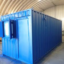100 Storage Container Conversions CONTAINER CONVERSION CASE STUDIES 20ft Office And Store CS28432a