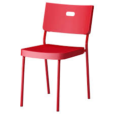HERMAN Chair red IKEA $15 Pop Art