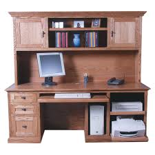 Wayfair Desks With Hutch by Monarch Cappuccino 48 In Computer Desk With 2 Drawer Computer