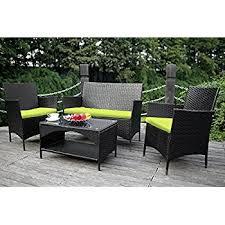 Amazon Oliver Smith 4 Pc Modern Rattan Wiker Sofa Set