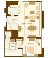 Bellagio 2 Bedroom Penthouse Suite by Suites And Villas At The Bellagio Thefinerthings