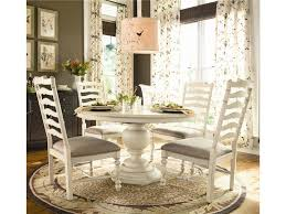 Captain Chairs For Dining Room Table by Paula Deen By Universal Home Round Dining Table W 4 Ladder Back