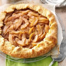 Cinnamon Pear Rustic Tart Recipe