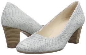 gabor kimberly women u0027s closed toe pumps blau 22 blue grey shoes