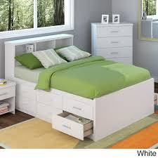 King Size Platform Bed With Headboard by Full Size Platform Bed With Storage And Bookcase Headboard Ideas