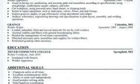Sample Resume Fcaw Welder Awesome For Templates A Pic Objective