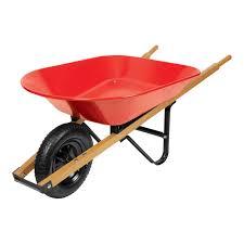 Ace Steel Single Wheel Wheelbarrow 4 cu ft 4S LS ACE Wheelbarrows Ace Hardware