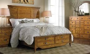 knotty pine queen storage bedroom haynes furniture virginia s