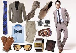 Men Fashion Retro Look