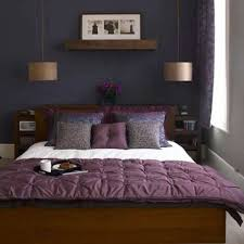 Violet Nuance For Bedroom Ideas Pendant Lamp Couple