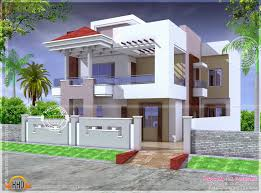 100 India House Designs Modern Mix Double Floor Home Design N Plans