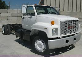 100 Two Ton Truck 1991 GMC Topkick Two Ton Truck Cab And Chassis Item A6439