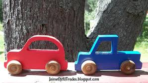 jaime of all trades diy wood car and truck push toys