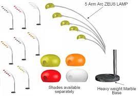 zeus 5 arm floor l 28 images zeus 5 arm arc floor l with