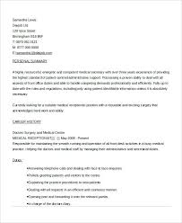Front Office Job Resume by Medical Resume Samples Physical Therapist Resume Templates
