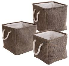 Decorating Fabric Storage Bins by Fabric Storage Bins For Clothes Storage Decorations
