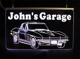 Personalized Bar Signs Man Cave Multi Color Changing Signs