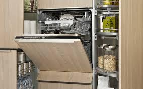 cuisine lave vaisselle cuisine ouverte camouflez votre électro darty vous