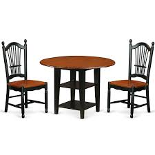 SUDO3-BCH-W 3 Piece Sudbury Set With One Round Dinette Table And Two  Dinette Chairs With Wood Seat In A Rich Black And Cherry Finish. Cophagen 3piece Black And Cherry Ding Set Wood Kitchen Island Table Types Of Winners Only Topaz Wodtc24278 3 Piece And Chairs Property With Bench Visual Invigorate Sets You Ll Love Walnut Tables Custmadecom Cafe Back Drop Leaf Dinette Sudo3bchw Sudbury One Round Two Seat In A Rich Finish Sabrina Country Style 9 Pcs White Counter Height Queen Anne Room 4 Fniture Of America Dover 6pc Venus Glass Top Soft