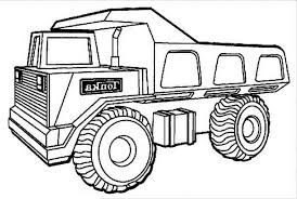 Free Coloring Pages Of Truck Toy