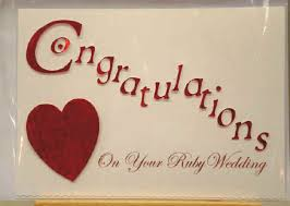 Congratulations On Your Ruby Wedding Greeting Card