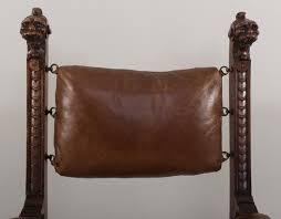 King Edward V11 Chair by Igavel Auctions Italian Baroque Savonarola Chair E 19th C King