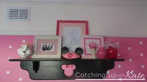 Mickey And Minnie Mouse Bath Decor by Minnie Mouse Room Diy Decor Highlights Along The Way