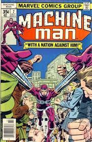 Machine Man 1978 1st Series 7
