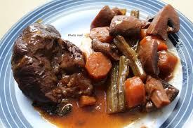 cuisiner du jarret de boeuf jarret de boeuf sauce au vin cookeo ou pas mamy nadine cuisine