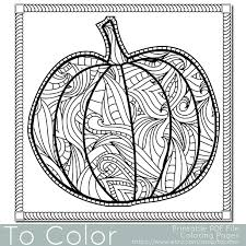 Halloween Coloring Pages For Adults Printables Throughout Adult