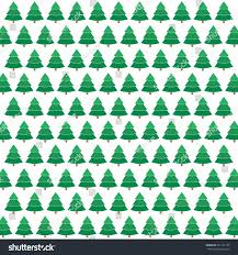 Donner And Blitzen Christmas Trees by Winter Pine Tree Background Pattern Vintage Stock Vector 351101105