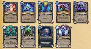 hearthstone whispers of the old gods shaman card and deck guide